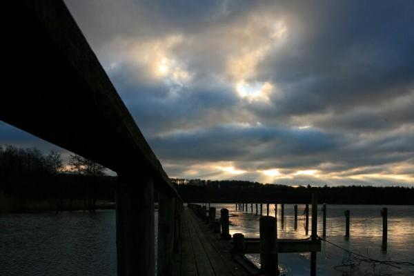 Bådbro og skydække af Niels Foltved